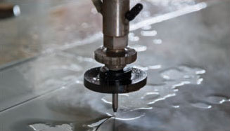 Precision water jet cutting machine