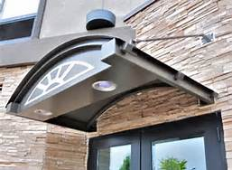Custom overhead outdoor light fixture